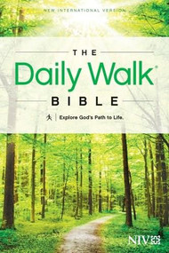 The Daily Walk Bible NIV (Softcover) by , 9781414380629