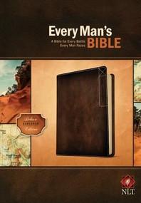 Every Man's Bible NLT, Deluxe Explorer Edition (LeatherLike, Brown) by Stephen Arterburn, Dean Merrill, 9781414381077