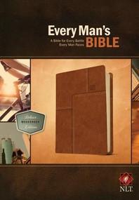 Every Man's Bible NLT, Deluxe Messenger Edition (LeatherLike, Brown) by Stephen Arterburn, Dean Merrill, 9781414381084