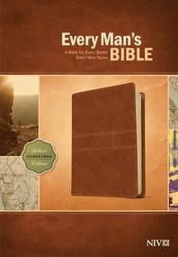 Every Man's Bible NIV, Deluxe Journeyman Edition (LeatherLike, Tan) by Stephen Arterburn, Dean Merrill, 9781414385105