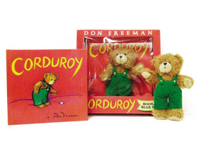 Corduroy Book and Bear by Don Freeman, 9780670063420