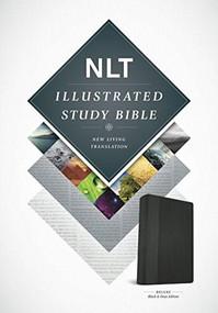 Illustrated Study Bible NLT, TuTone (LeatherLike, Black/Onyx) by , 9781496402011