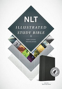 Illustrated Study Bible NLT, TuTone (LeatherLike, Black/Onyx, Indexed) by , 9781496402028