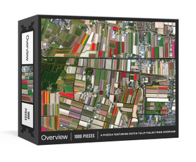 Overview Puzzle (A 1000-Piece Jigsaw featuring Dutch Tulip Fields from Overview) by Benjamin Grant, 9780593232224
