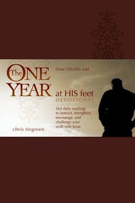 The One Year At His Feet Devotional by Chris Tiegreen, 9781414311500