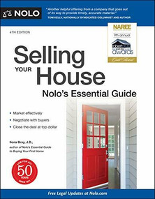Selling Your House (Nolo's Essential Guide) by Ilona Bray, 9781413328189