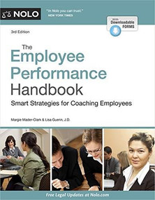 Employee Performance Handbook, The (Smart Strategies for Coaching Employees) - 9781413328868 by Margie Mader-Clark, Lisa Guerin, 9781413328868