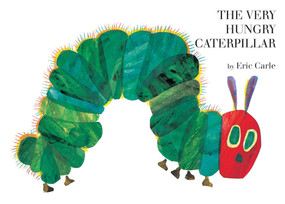 The Very Hungry Caterpillar Giant Board Book and Plush package by Eric Carle, Eric Carle, 9780399237720