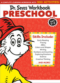 Dr. Seuss Workbook: Preschool (A Complete Learning Workbook with 300+ Activities) by Dr. Seuss, 9780525572190