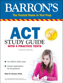 ACT Study Guide with 4 Practice Tests by Brian Stewart, 9781506258126