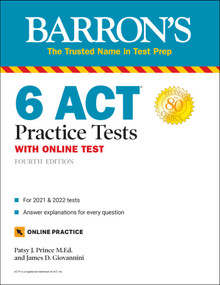 6 ACT Practice Tests with Online Test by Patsy J. Prince, James D. Giovannini, 9781506266589