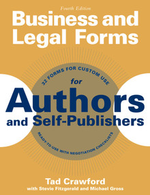 Business and Legal Forms for Authors and Self-Publishers by Tad Crawford, Stevie Fitzgerald, Michael Gross, 9781621534648