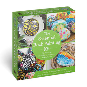 The Essential Rock Painting Kit (The All-in-One Starter Box Set for Beautiful Rock Collections) by Myra Romano, 9781646431151