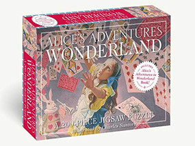 Alice's Adventures in Wonderland: 200-Piece Jigsaw Puzzle & Book (A 200-Piece Family Jigsaw Puzzle Featuring Alice's Adventures in Wonderland!) by Lewis Carroll, Charles Santore, 9781646431540