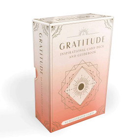 Gratitude (Inspirational Card Deck and Guidebook) (Miniature Edition) by Caitlin Scholl, 9781647222932