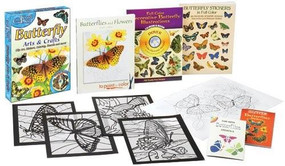 Butterfly Arts & Crafts Fun Kit by Dover, 9780486460017