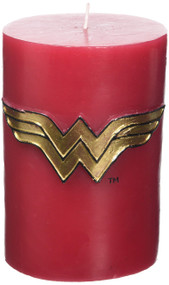 DC COMICS: WONDER WOMAN SCULPTED INSIGNIA CANDLE by INSIGHT EDITIONS,, 9781682982068