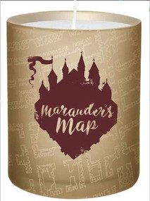 HARRY POTTER: MARAUDER'S MAP GLASS CANDLE (Miniature Edition) by INSIGHT EDITIONS, 9781682984895