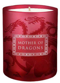 "GAME OF THRONES: ""MOTHER OF DRAGONS"" GLASS CANDLE (Miniature Edition) by INSIGHT EDITIONS,, 9781682984925"
