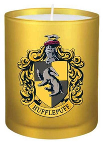 HARRY POTTER: HUFFLEPUFF GLASS VOTIVE CANDLE (Miniature Edition) by INSIGHT EDITIONS,, 9781682984956