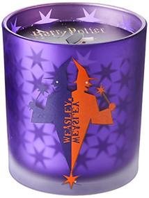 HARRY POTTER: WEASLEYS' WIZARD WHEEZES GLASS CANDLE (Miniature Edition) by INSIGHT EDITIONS,, 9781682985281