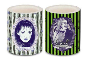 BEETLEJUICE LED CANDLES (SET OF 2) (Miniature Edition) by INSIGHT EDITIONS,, 9781682985304
