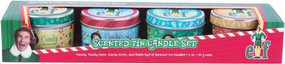 ELF SCENTED TIN CANDLE SET (SET OF 4) by INSIGHT EDITIONS,, 9781682985373