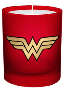 DC COMICS: WONDER WOMAN GLASS CANDLE (Miniature Edition) by INSIGHT EDITIONS,, 9781682982846