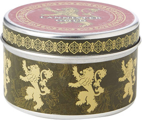 GAME OF THRONES: HOUSE LANNISTER SCENTED CANDLE (2 OZ. - CINNAMON) (Miniature Edition) by INSIGHT EDITIONS,, 9781682983096
