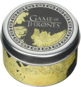 GAME OF THRONES MAP SCENTED CANDLE (2 OZ. - VANILLA) (Miniature Edition) by INSIGHT EDITIONS,, 9781682983126