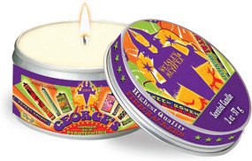 HARRY POTTER: WEASLEYS' WIZARD WHEEZES SCENTED CANDLE (MINT - 2 OZ.) (Miniature Edition) by INSIGHT EDITIONS,, 9781682983133