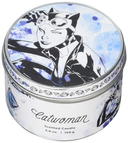 DC COMICS: CATWOMAN SCENTED CANDLE (5.6 OZ.) (Miniature Edition) by INSIGHT EDITIONS,, 9781682983362