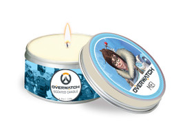 OVERWATCH: MEI SCENTED CANDLE (5.6 OZ.) (Miniature Edition) by INSIGHT EDITIONS,, 9781682983492
