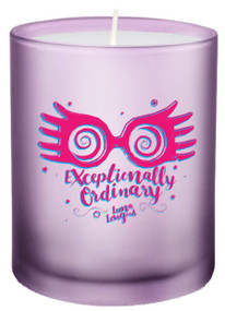 "HARRY POTTER: ""EXCEPTIONALLY ORDINARY"" GLASS VOTIVE CANDLE (Miniature Edition) by INSIGHT EDITIONS,, 9781682983980"