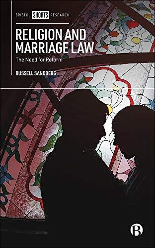 Religion and Marriage Law (The Need for Reform) by Russell Sandberg, 9781529212808