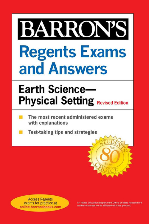 Regents Exams and Answers: Earth Science--Physical Setting Revised Edition by Edward J. Denecke, 9781506264653