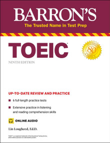 TOEIC (with online audio) by Lin Lougheed, 9781506273426