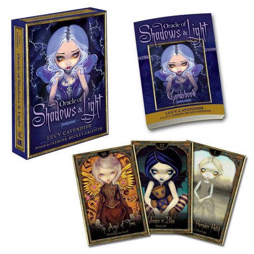 Oracle of Shadows and Light by Lucy Cavendish, Jasmine Becket-Griffith, 9781582703053
