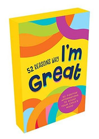 52 Reasons Why I'm Great (Positive affirmations to boost your child's mood) (Miniature Edition) by Summersdale, 9781800070134