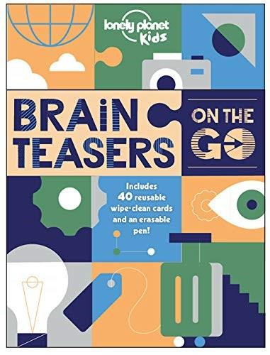 Brain Teasers on the Go (Miniature Edition) by Lonely Planet Kids, Lonely Planet Kids, 9781838692360