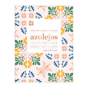Azulejos DIY Notecard Folio by Galison, 9780735361133