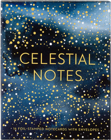 Celestial Notes (16 Foil-Stamped Notecards with Envelopes (Celestial Star Stationery, Space and Galaxy Watercolor Blank Notecards)) (Miniature Edition) by Yao Cheng, 9781452180762
