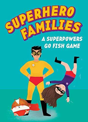 Superhero Families (A Superpowers Go Fish Game) (Miniature Edition) by Kirsti Davidson, 9781786273567