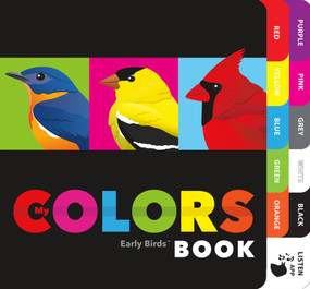 My Colors Book by Patricia Mitter, Miyoko Chu, 9781943645435