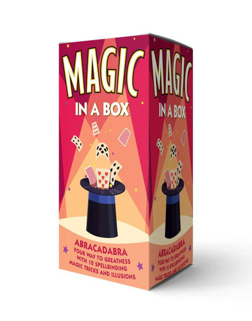 Magic in a Box (Abracadabra Your Way to Greatness with 10 Spellbinding Magic Tricks and Illusions) by Editors of Cider Mill Press, 9781646431915