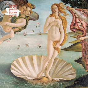 Adult Jigsaw Puzzle Sandro Botticelli: The Birth of Venus (1000-piece Jigsaw Puzzles) by Flame Tree Studio, 9781839644948