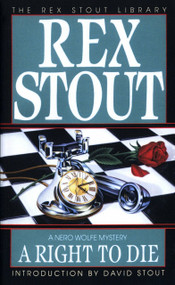 A Right to Die by Rex Stout, 9780553240320