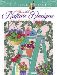 Creative Haven Fanciful Nature Designs Coloring Book by Jessica Mazurkiewicz, 9780486848761