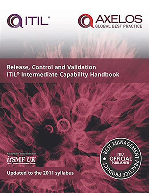 Release, Control and Validation ITIL Intermediate Capability Handbook (Miniature Edition) by itSMF UK, 9780113314331
