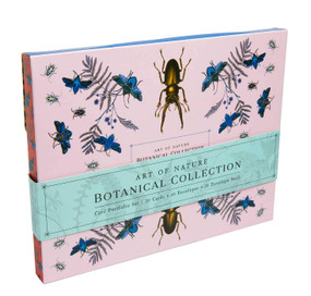 Art of Nature: Botanical Card Portfolio Set (Set of 20 Cards) by Insight Editions, 9781647222017